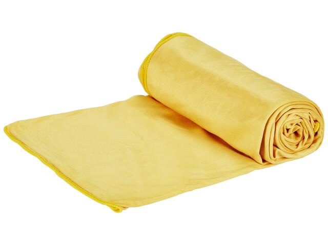Jack Wolfskin Wolftowel Light Towel L burly yellow